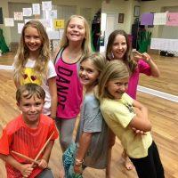 Group Shot Rock School Camp